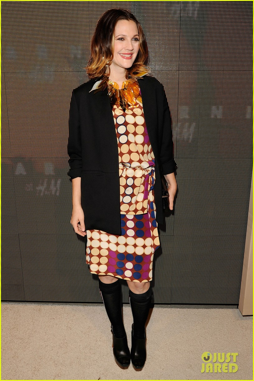 drew barrymore jessica chastain marni for hm 02