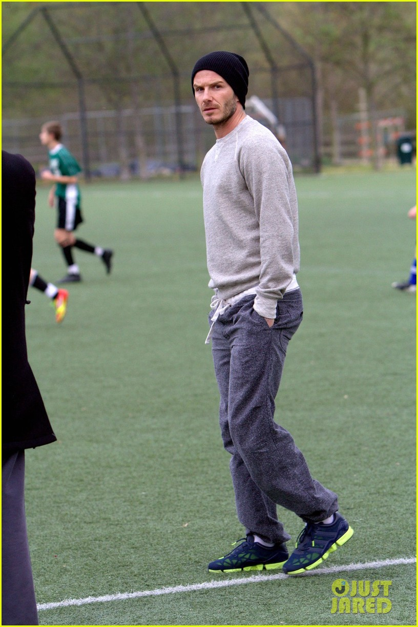 david beckham brooklyn soccer game 03
