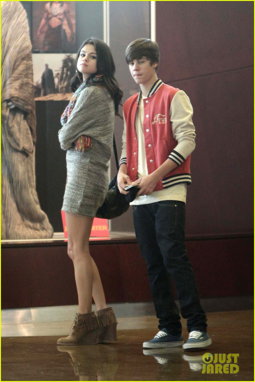 justin bieber selena gomez saturday night date 012633027