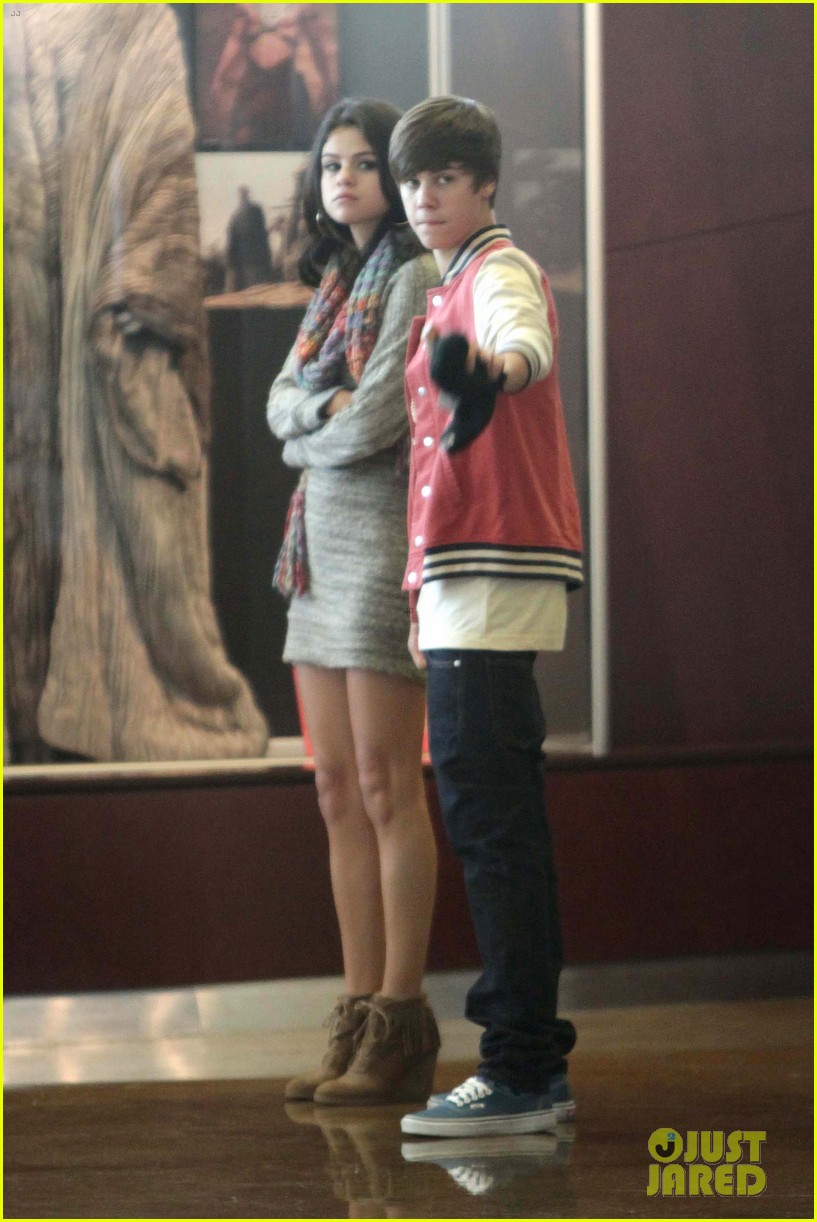 justin bieber selena gomez saturday night date 102633036