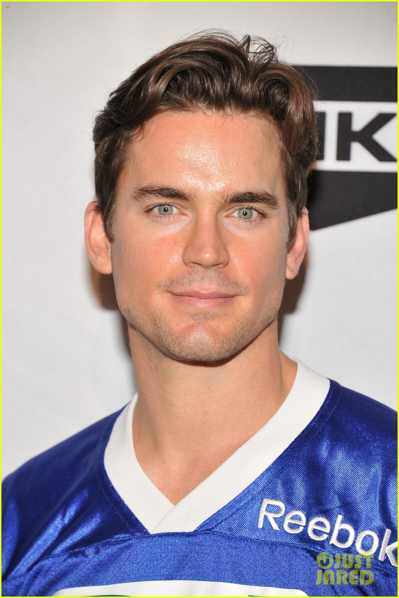 matt bomer super bowl events with son kit 02
