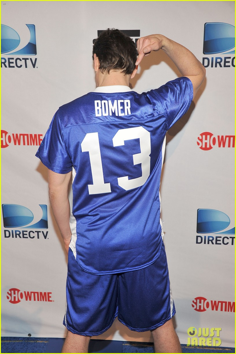 matt bomer super bowl events with son kit 032625268