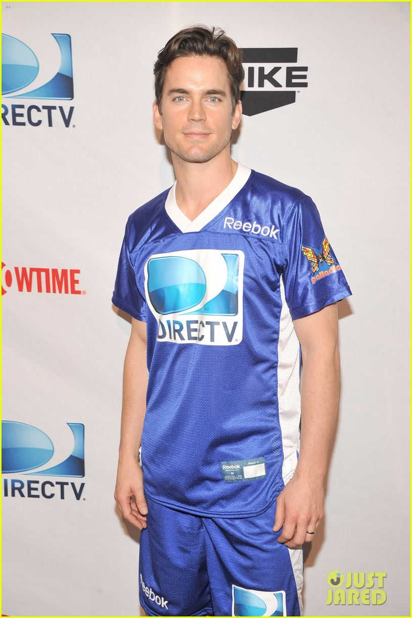 matt bomer super bowl events with son kit 172625282