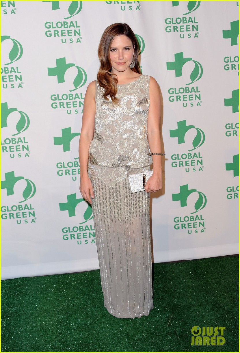 sophia bush emmy rossum global green usa 032632165