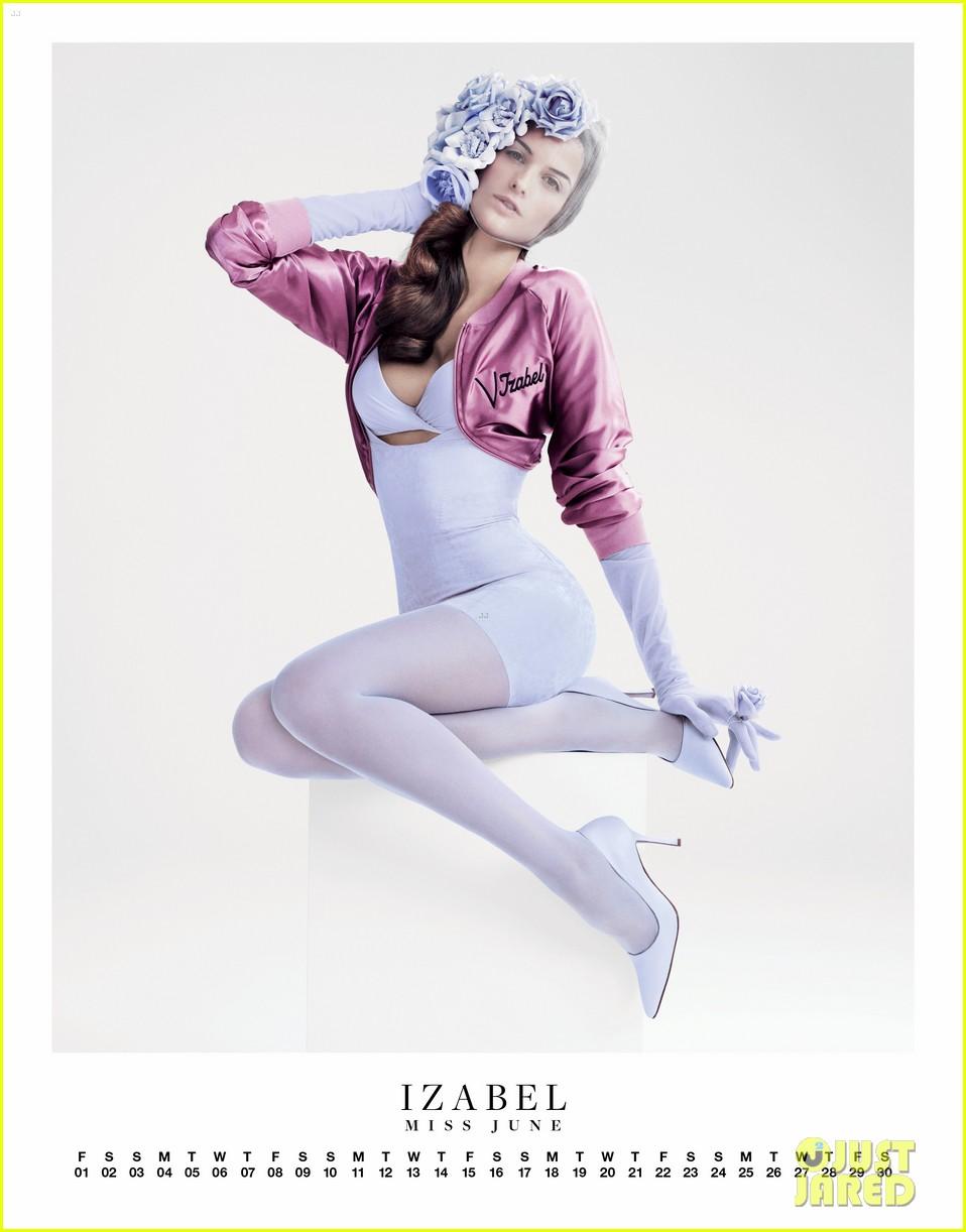 114879212b29a Miranda Kerr: 'Vman' Pin-Up Calendar!: Photo 2626963 | Adriana Lima ...