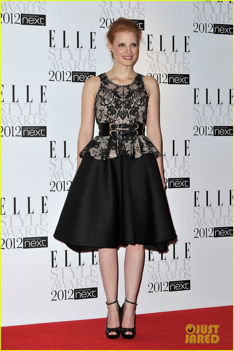 jessica chastain elle style awards 012628696