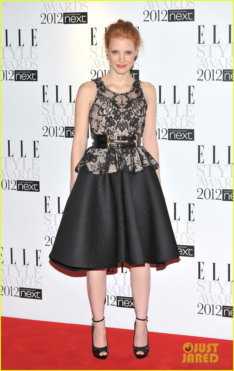 jessica chastain elle style awards 062628701