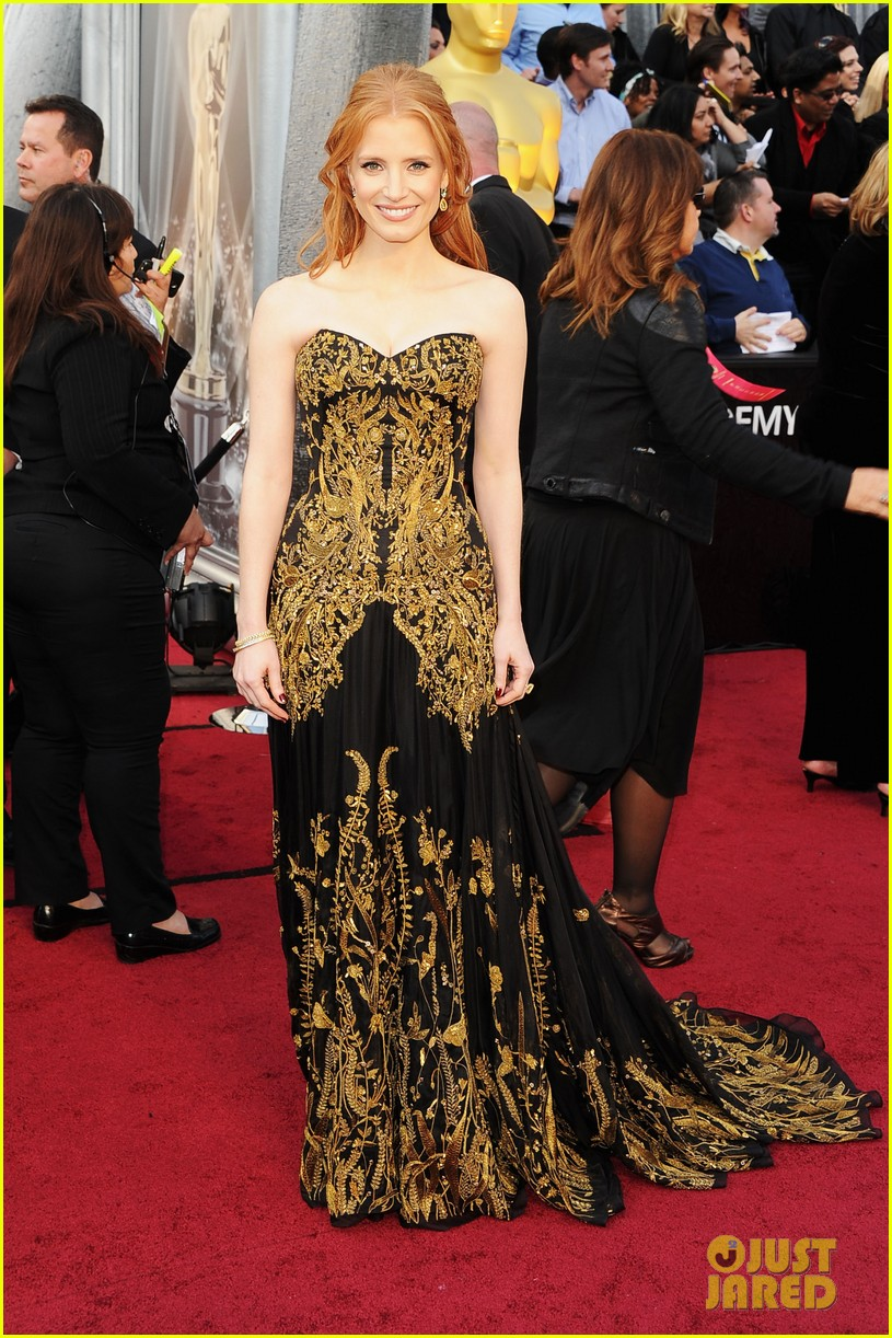 jessica chastain 2012 oscars 032633412