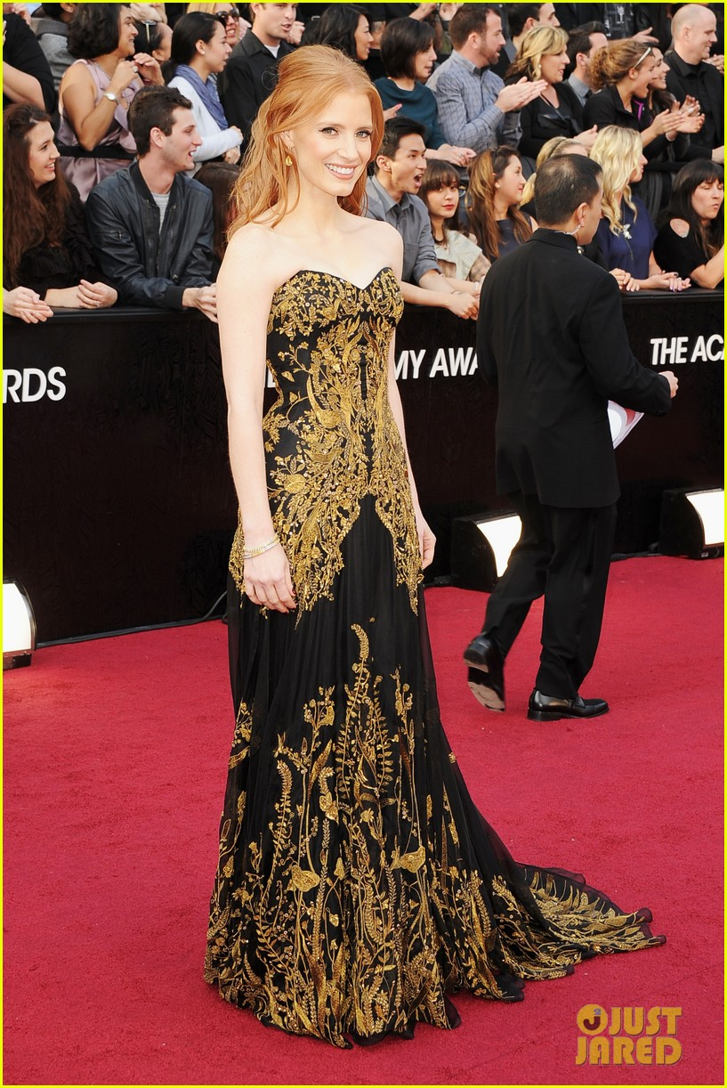 jessica chastain 2012 oscars 04