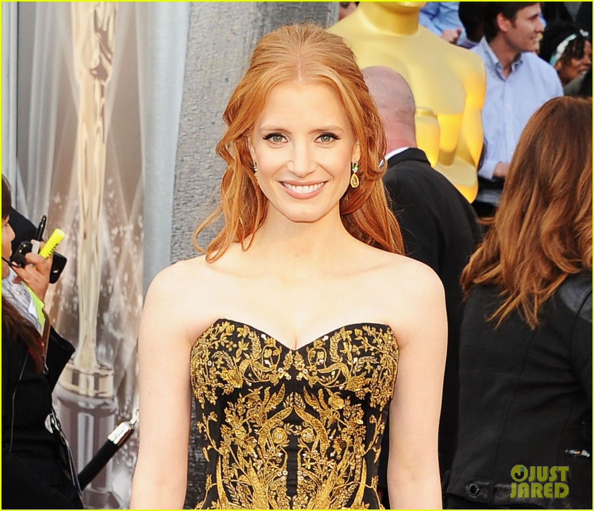jessica chastain 2012 oscars 052633414