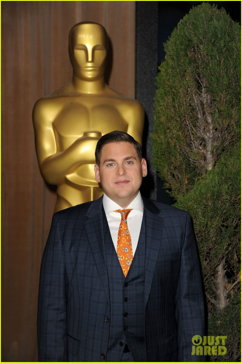 george clooney jonah hill academy awards nomination luncheon 092625926