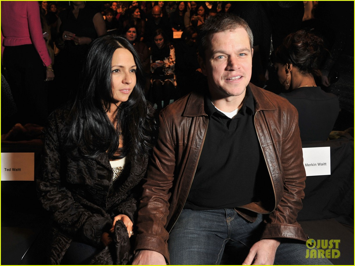 matt damon naeem khan 112629080