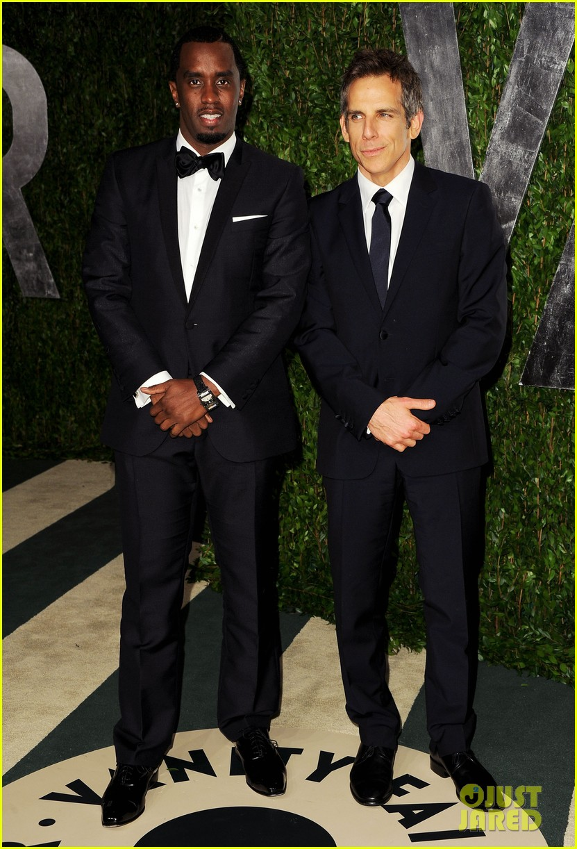 diddy ben stiller chris rock seth rogen vanity fair party 012634051