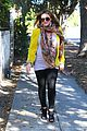 hilary duff pregnant yellow blazer 16