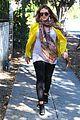 hilary duff pregnant yellow blazer 17