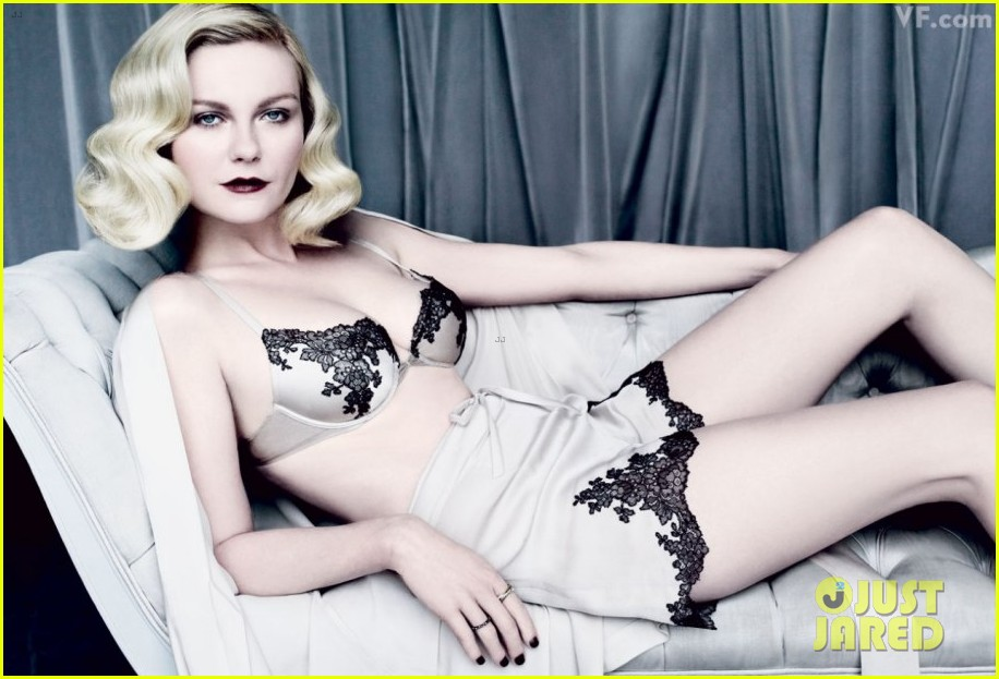 kirsten dunst lingerie lady for vanity fair 012630625