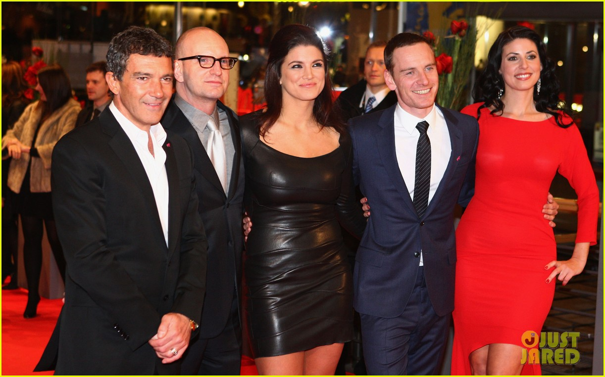 michael fassbender gina carano haywire premiere berlin 212629555