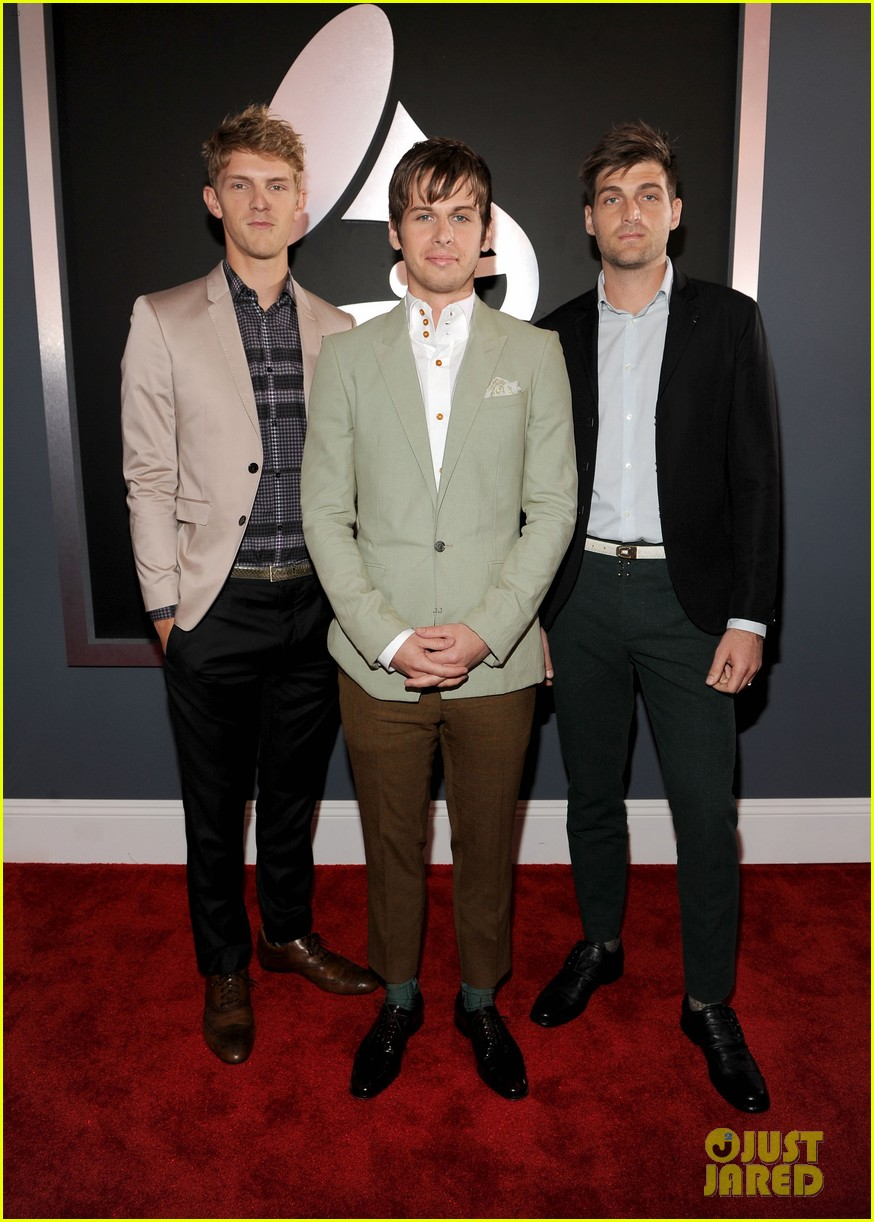 foster the people grammys 2012 red carpet 032628144