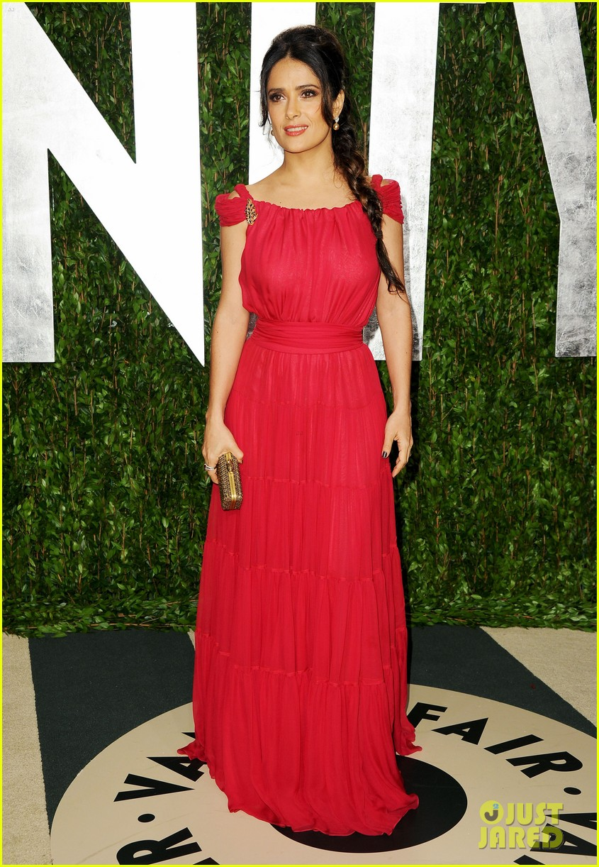 salma hayek vanity fair party 02
