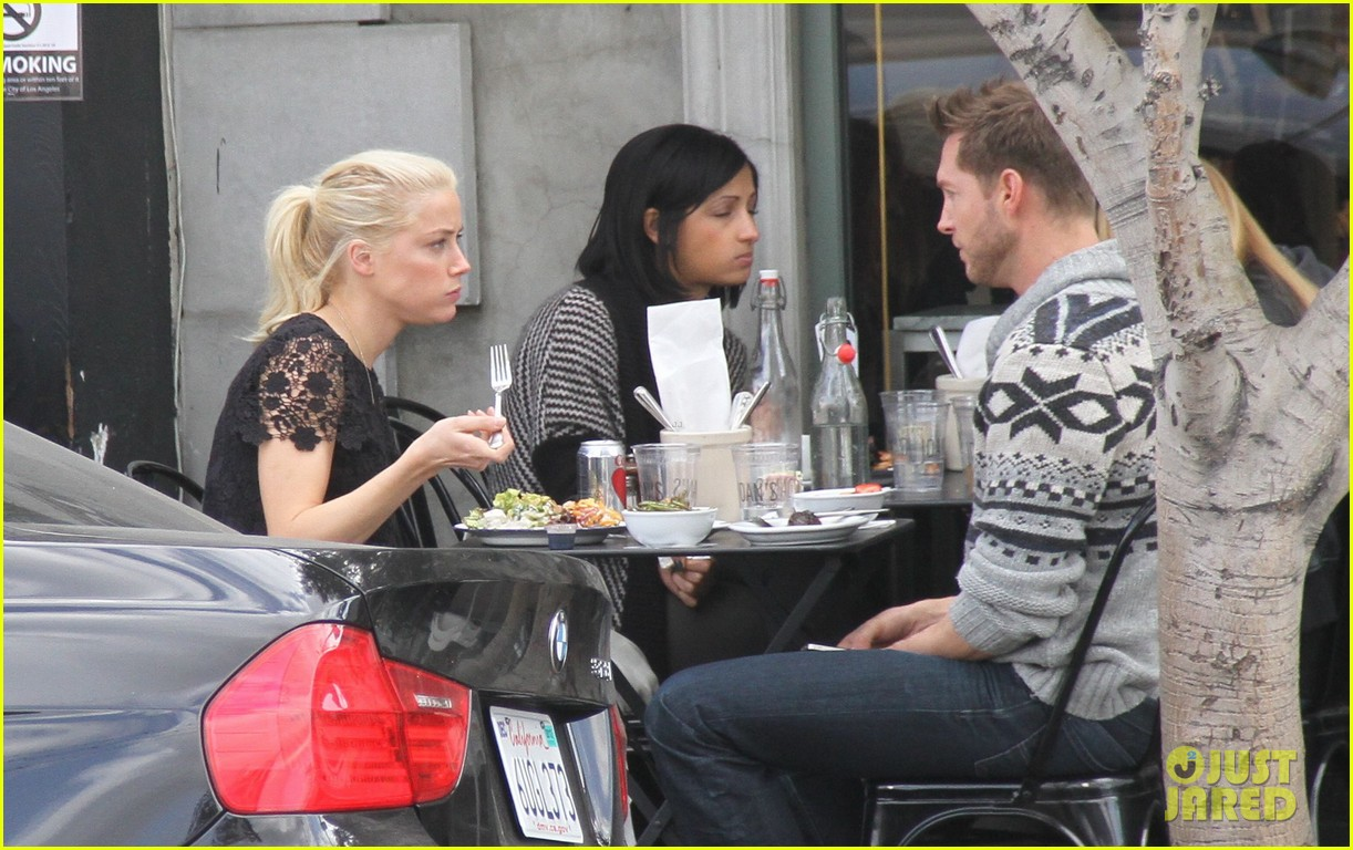 amber heard lunch 102634519