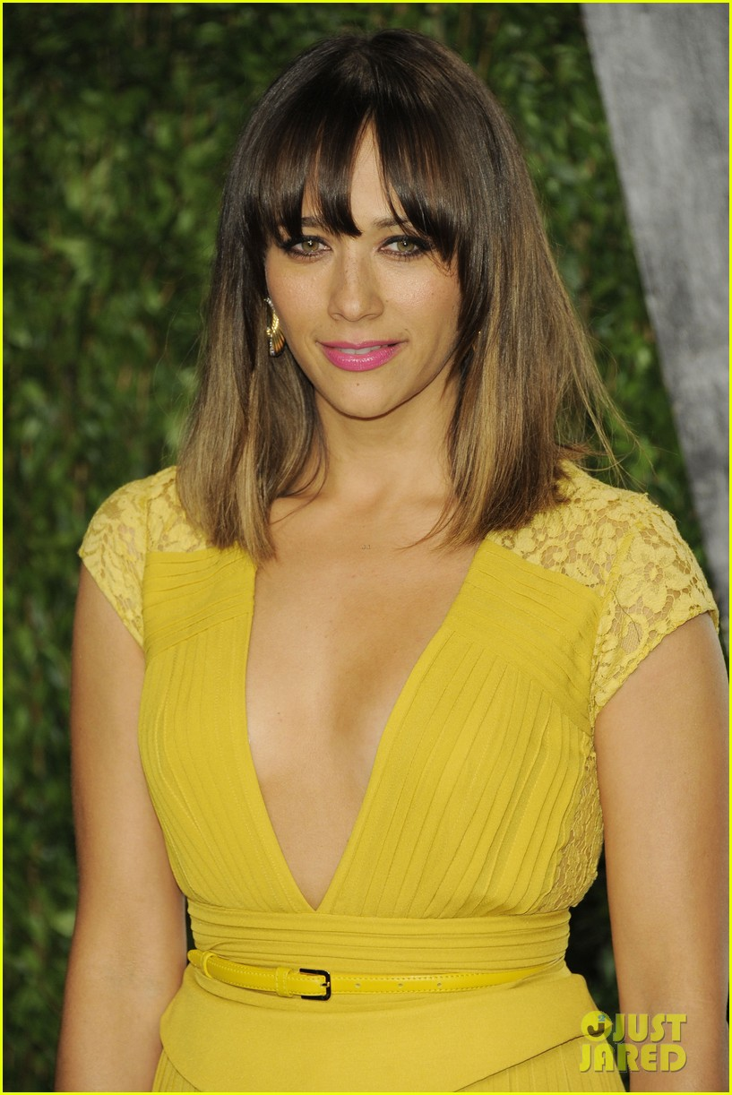 Rashida Jones Abbie Cornish Vanity Fair Oscar Party Photo