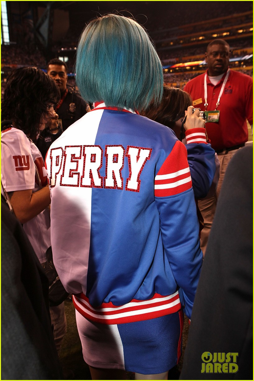 katy perry pre show super bowl 08
