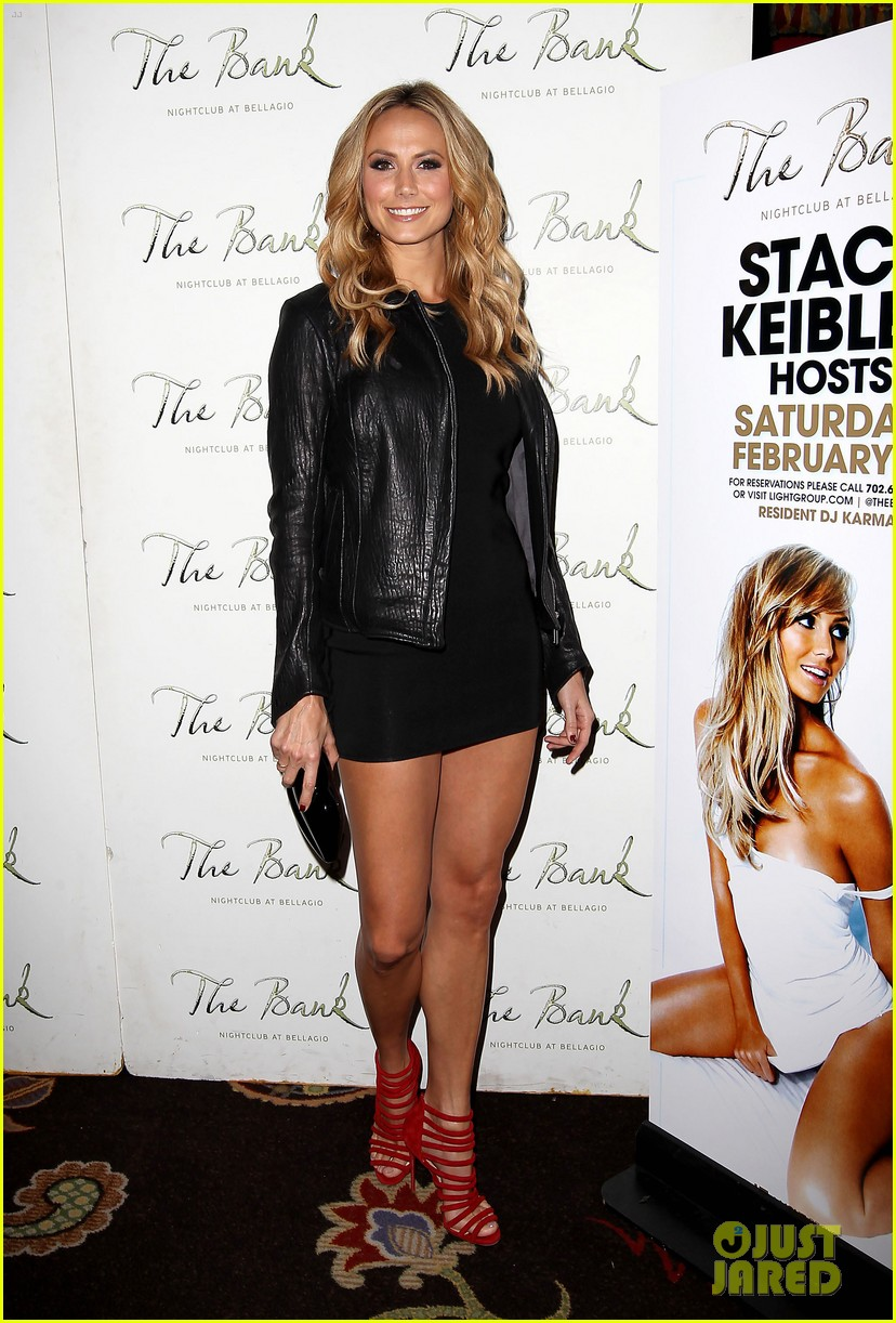 stacy keibler pre super bowl party las vegas 152625595