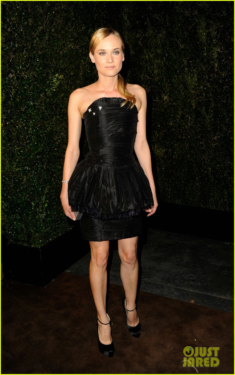 diane kruger chanel pre oscar dinner party 032633161