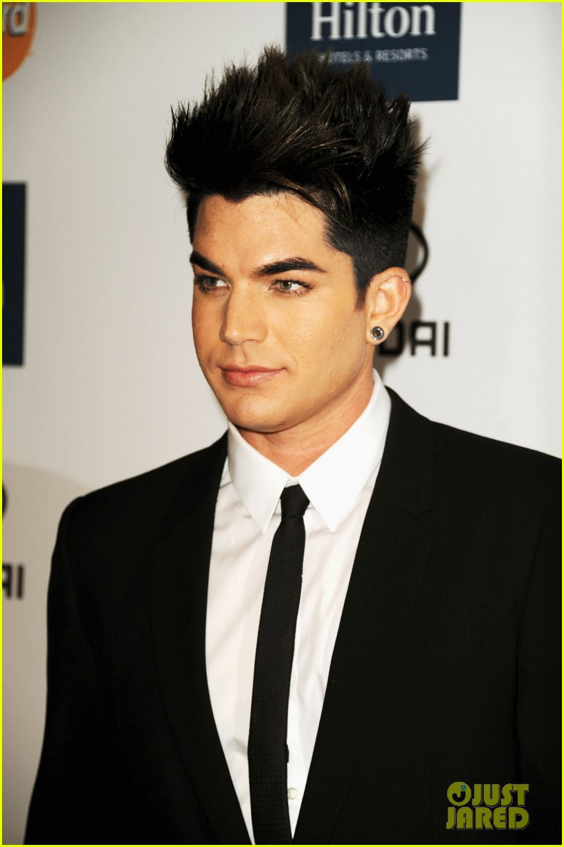 adam lambert clive davis party 06
