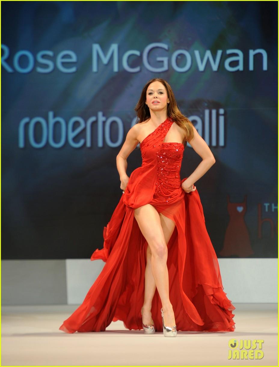 rose mcgowan red dress 01