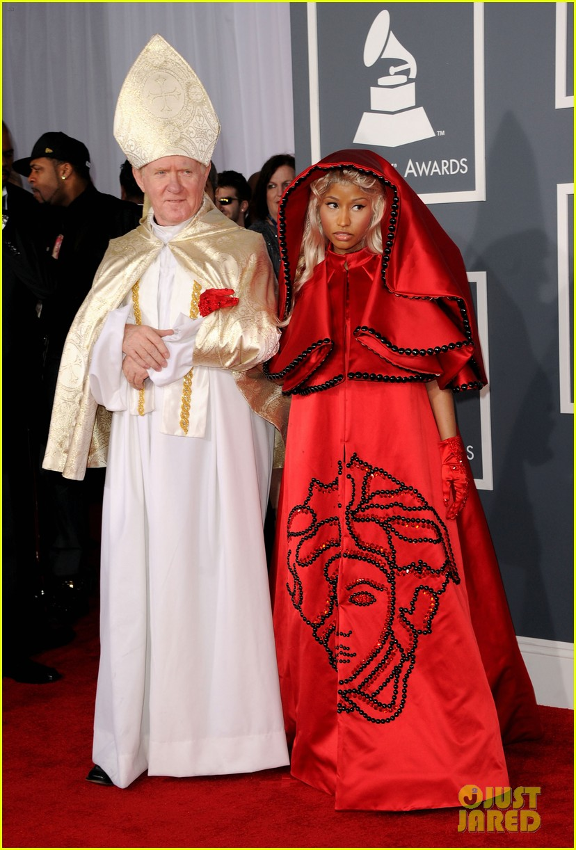 nick minaj grammy awards 2012 03