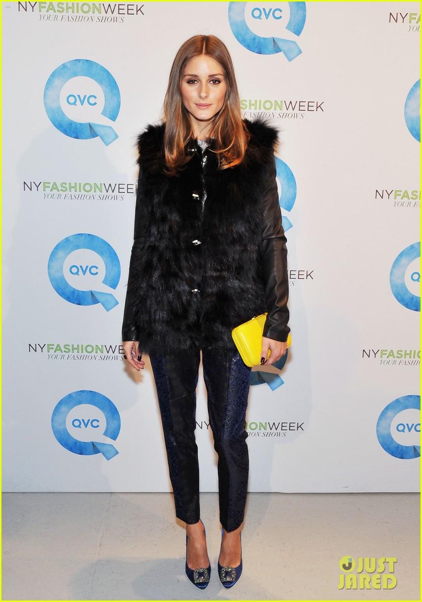 mary kate ashley olsen qvc show fashion week 01