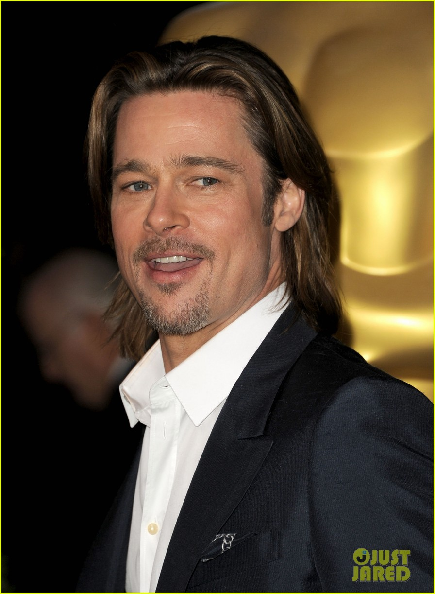 brad pitt academy awards nomination luncheon 032625912