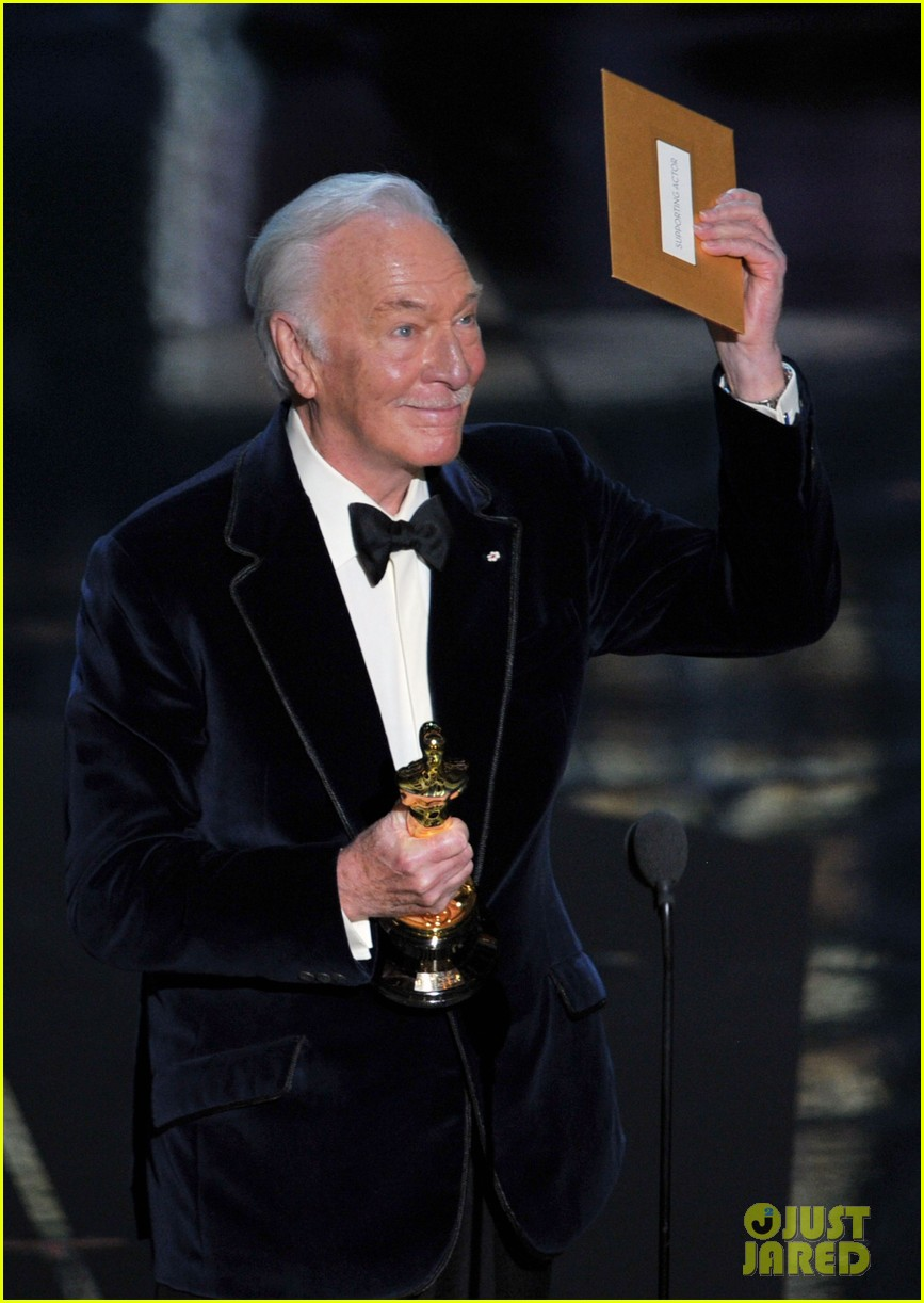 christopher plummer 2012 oscar winner 032633714
