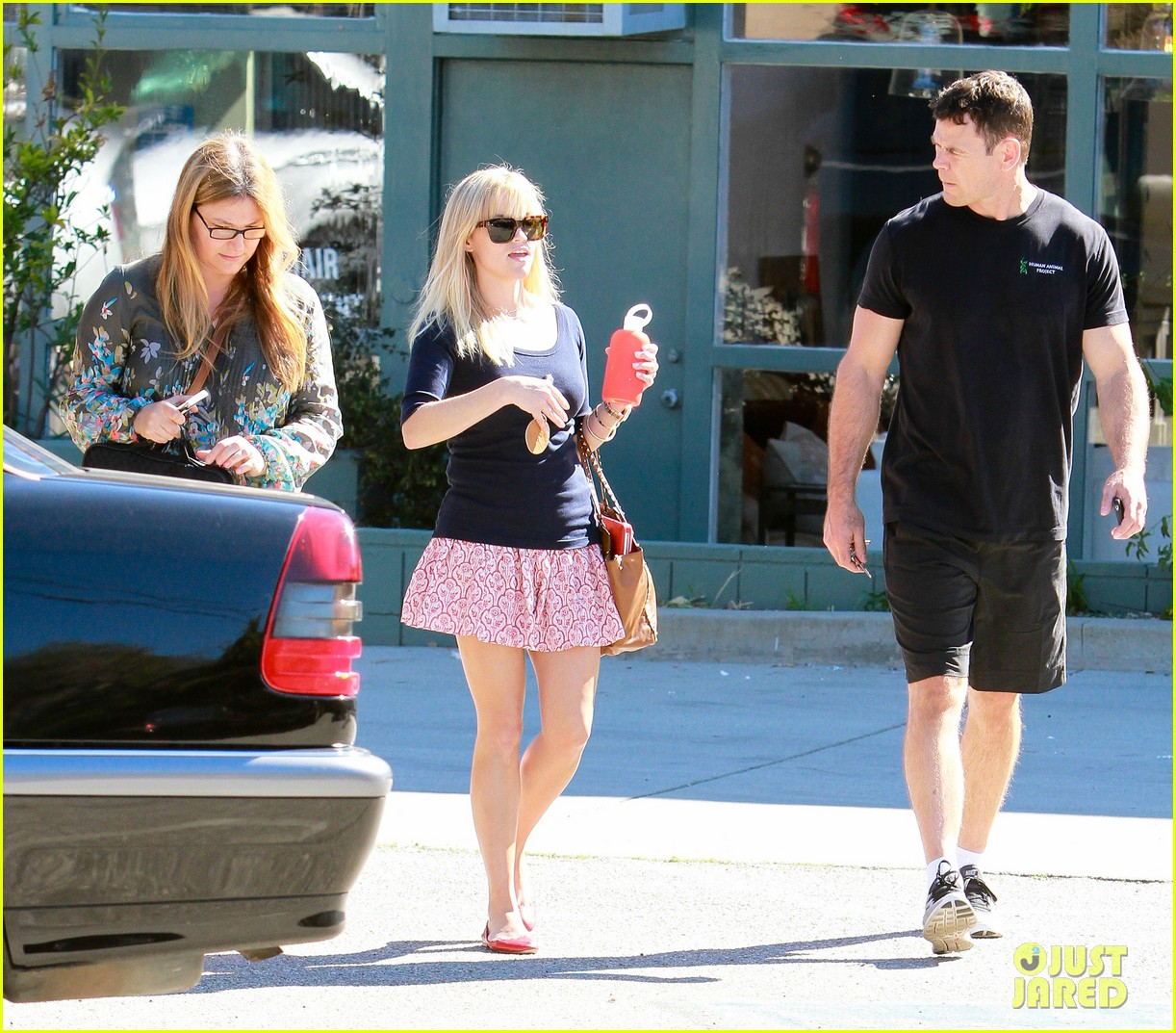 reese witherspoon printed skirt 10