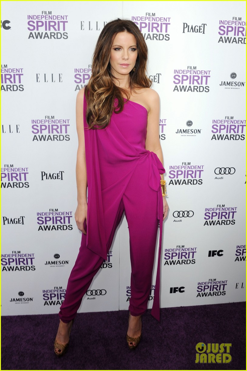 zoe saldana kate beckinsale film independent spirit awards 02