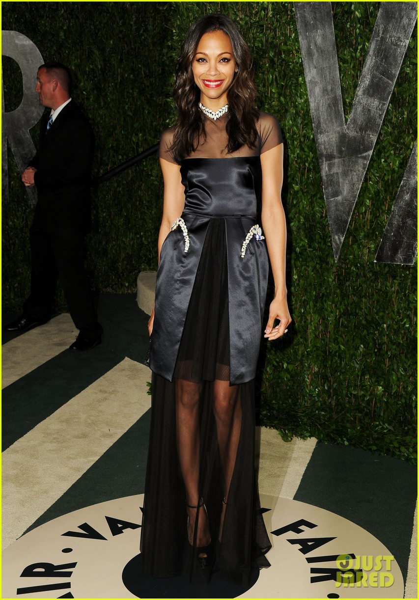 zoe saldana bradley cooper vanity fair party 032633997