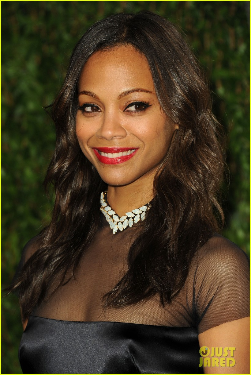 zoe saldana bradley cooper vanity fair party 062634000