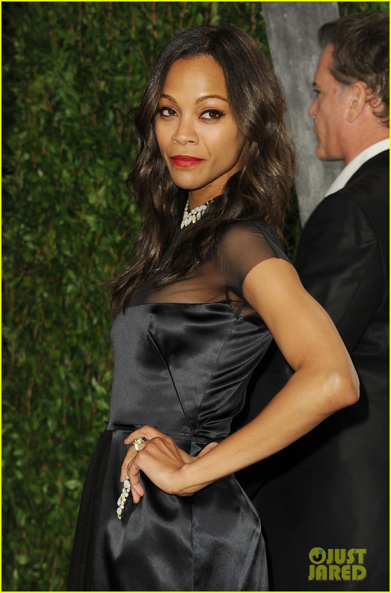 zoe saldana bradley cooper vanity fair party 13