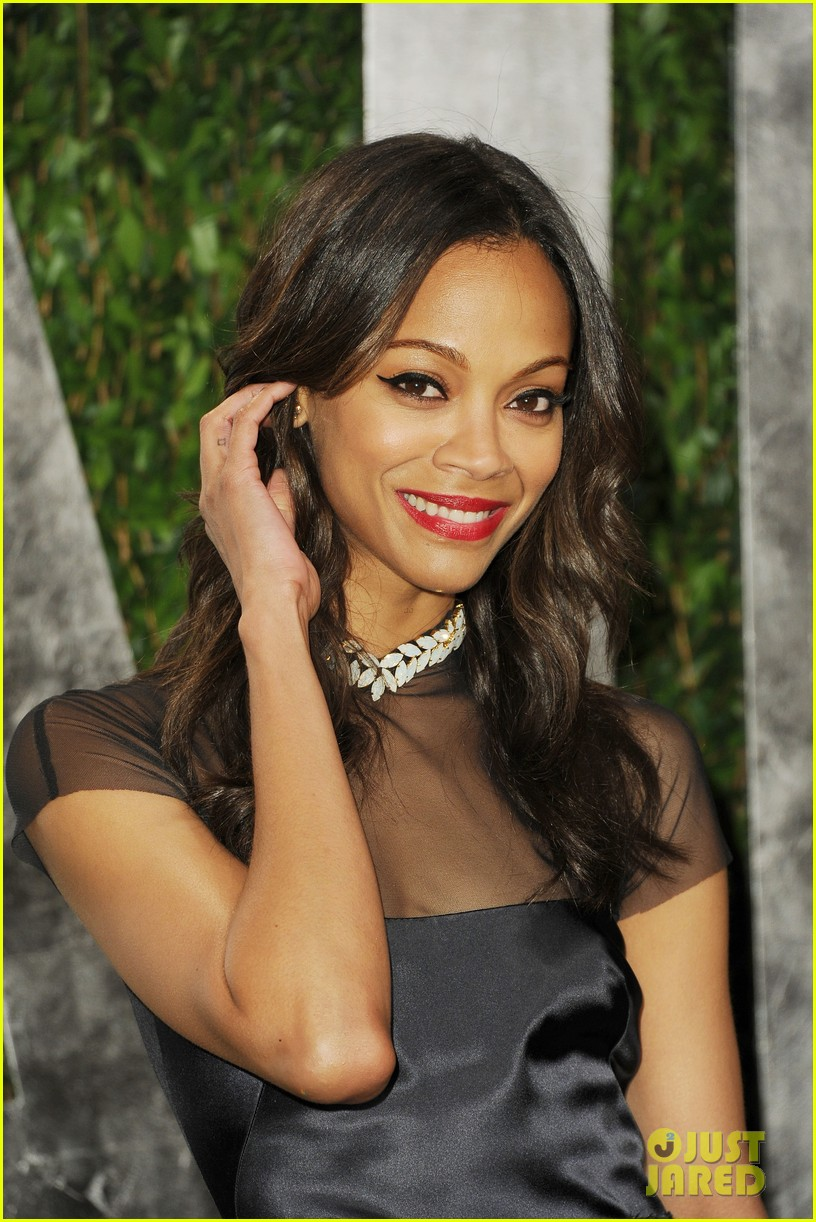 zoe saldana bradley cooper vanity fair party 142634008