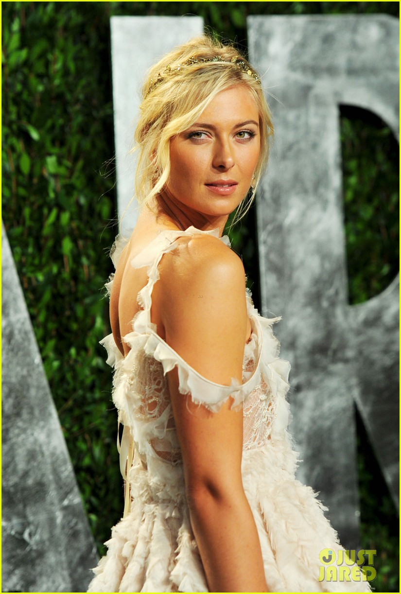 maria sharapova williams sisters vanity fair oscar party 14