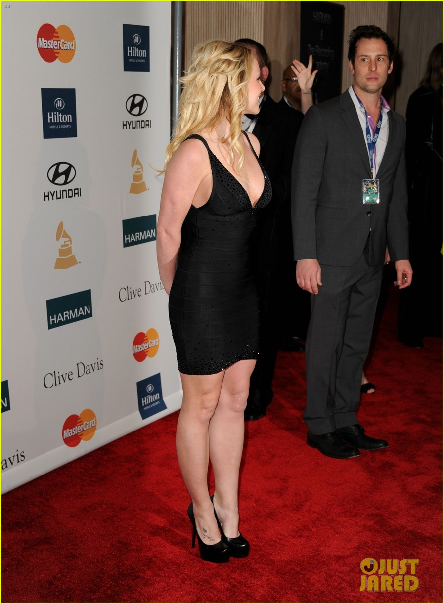 britney spears clive davis party 062627690