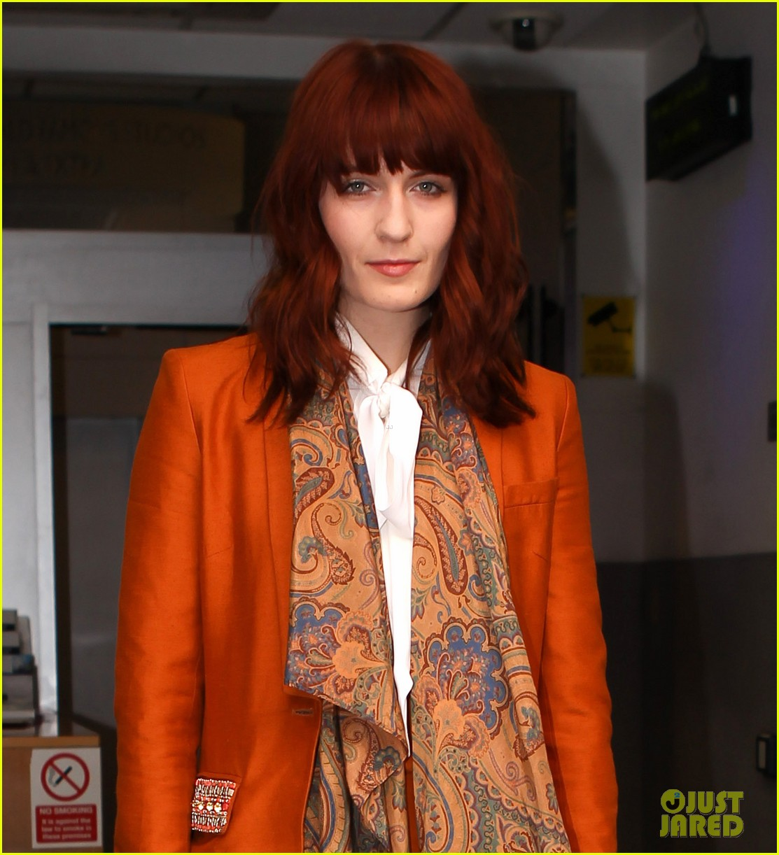 florence welch brit awards 2012 012631516