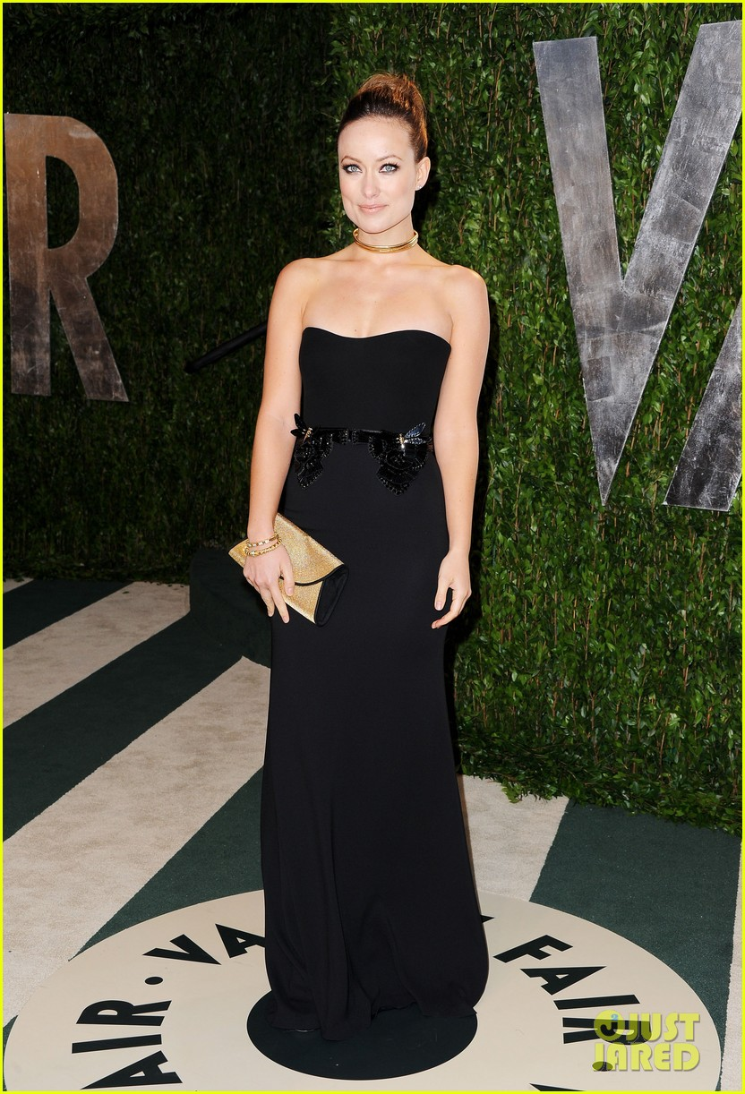 olivia wilde vanity fair oscar party 01