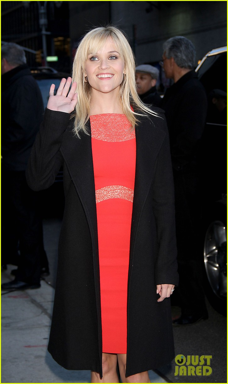 reese witherspoon david letterman 012628799