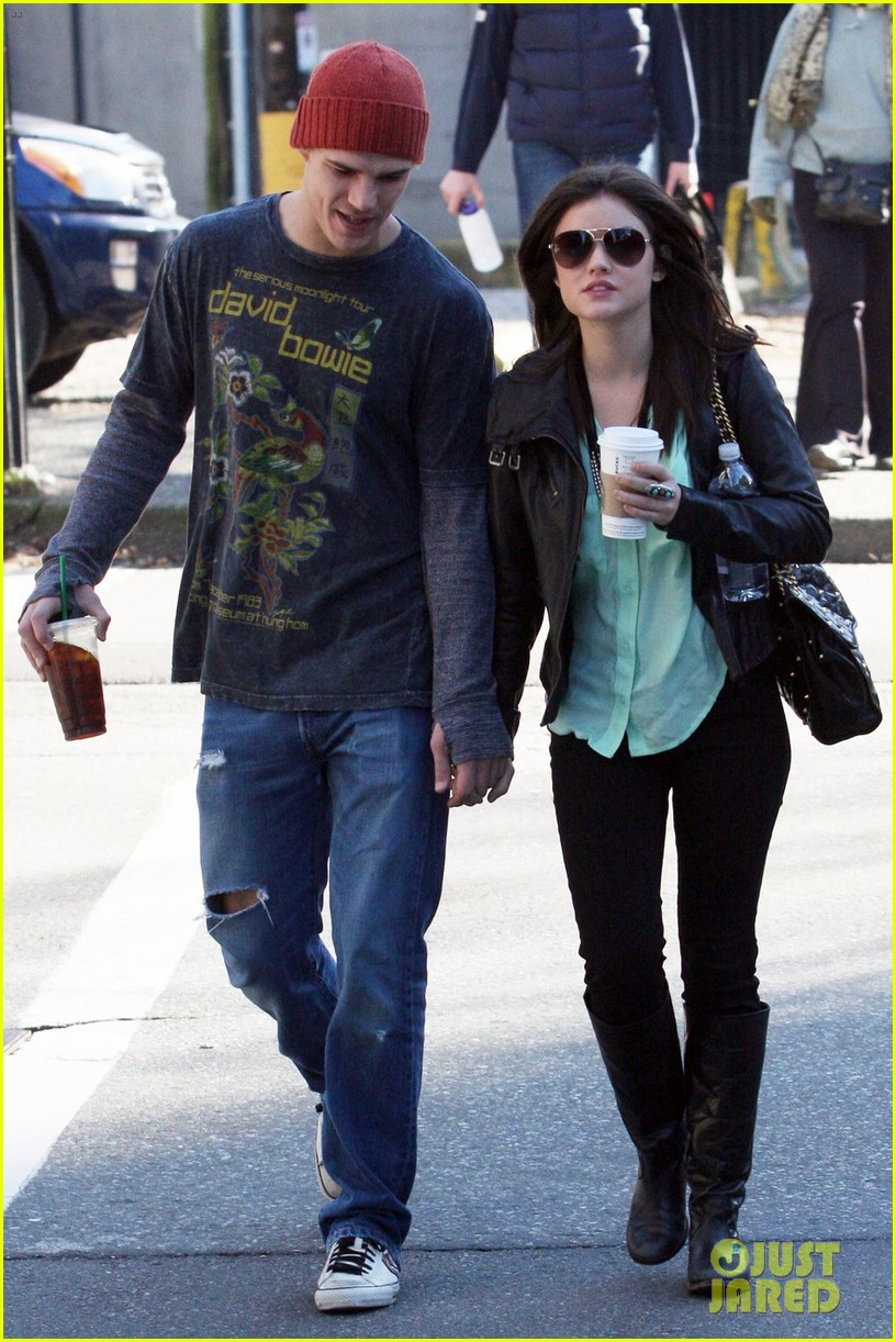 chris zylka lucy hale holding hands 07