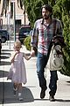 ben affleck brings violet to ballet class 10