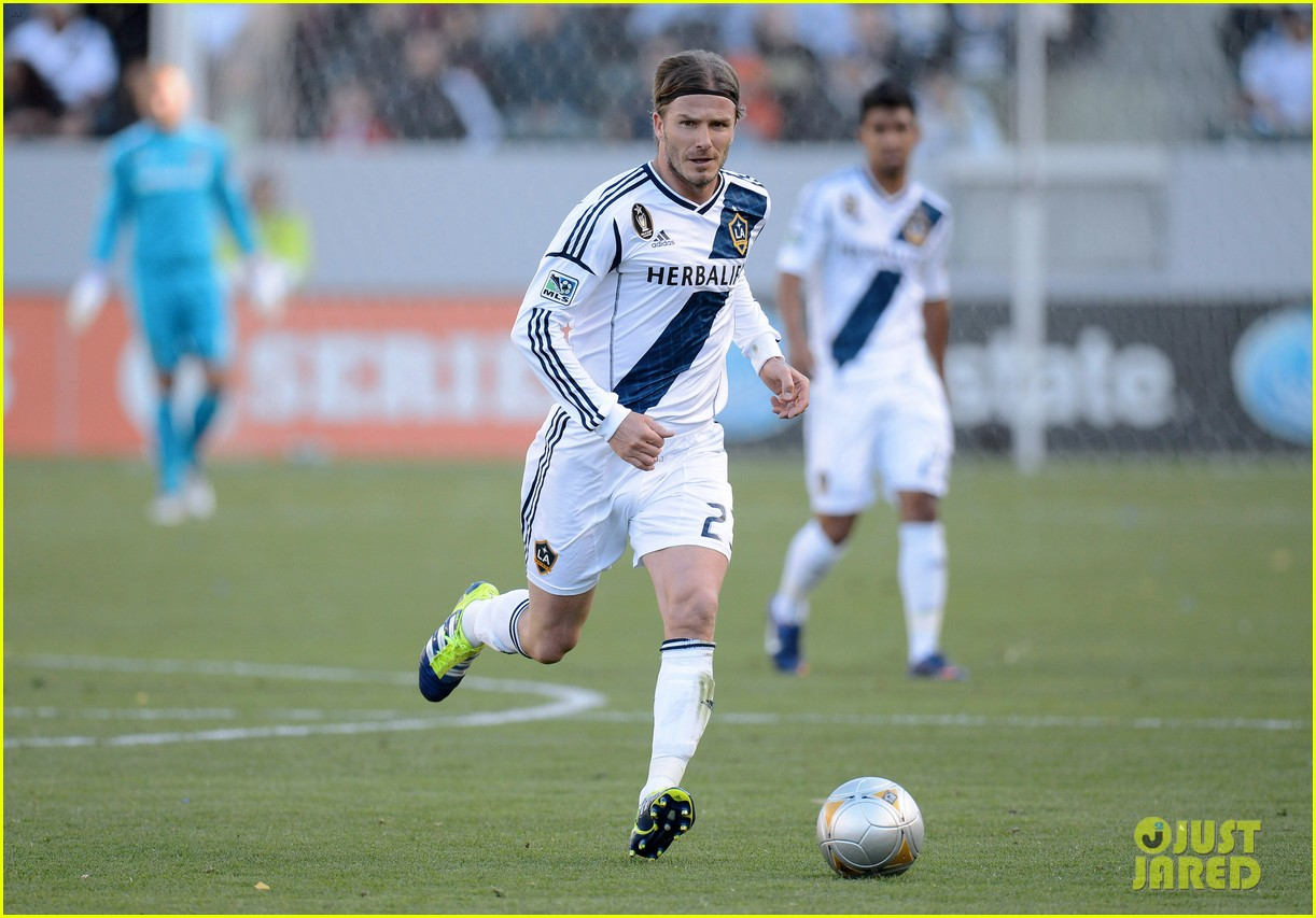david beckham first l a galaxy win of the season 052640335
