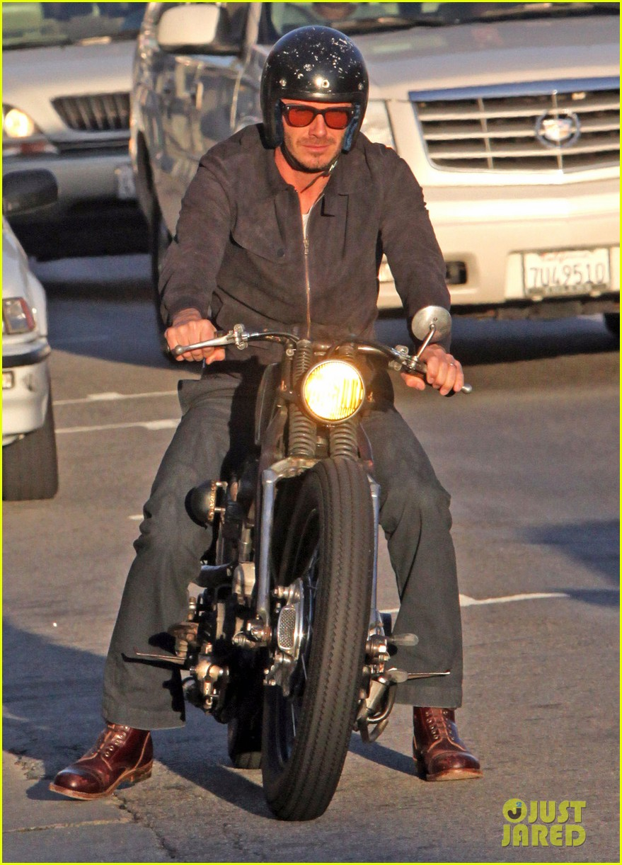 david beckham motorcycle man 032641385