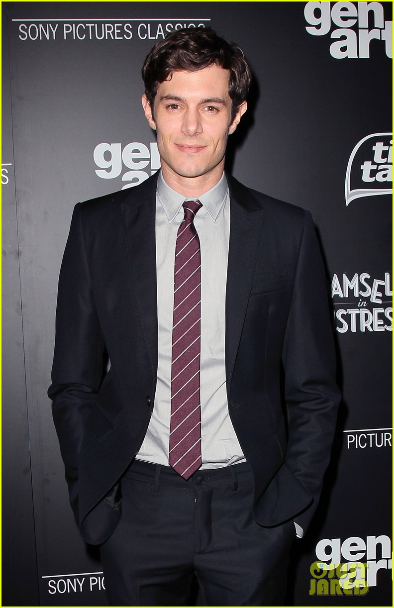 adam brody analeigh tipton damsels in distress premiere 042641190